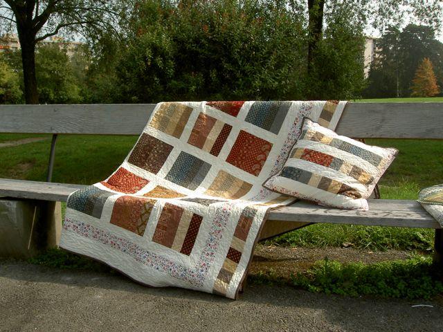 Draped quilt