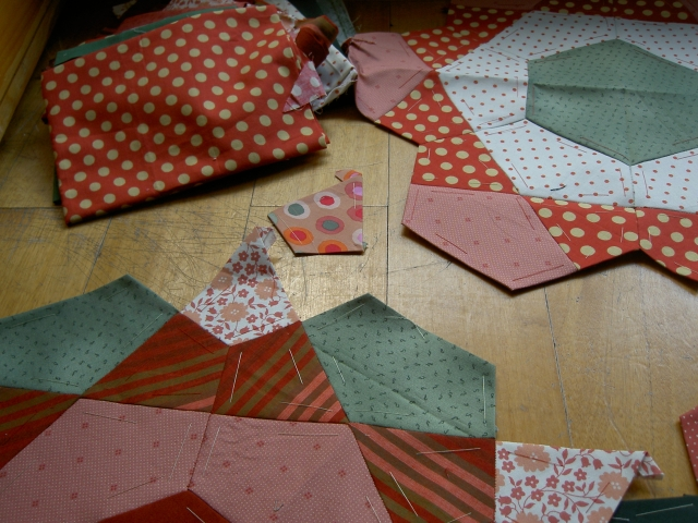 Paper piecing rose1