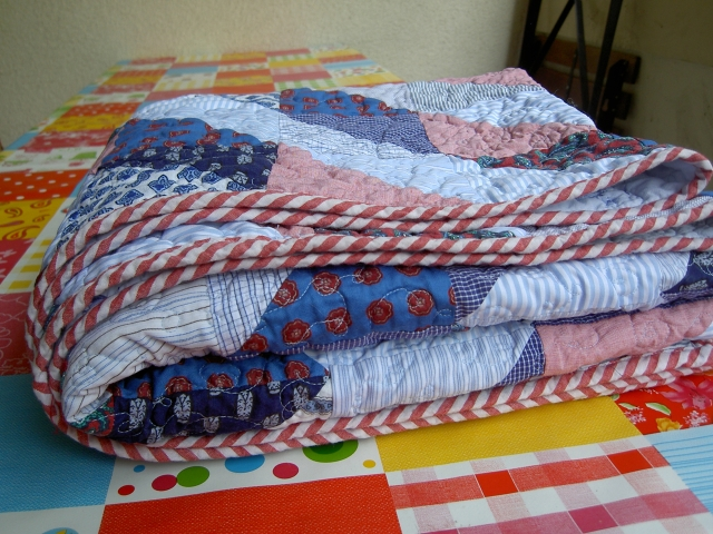 Shirt quilt finished6