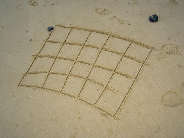 Sand quilt
