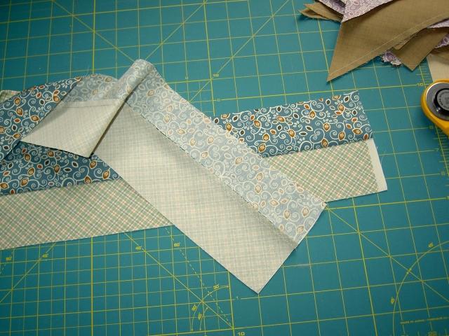 Quick piecing diagonal strip blocks01