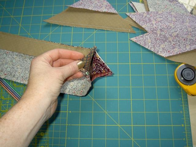 Quick piecing diagonal strip blocks04