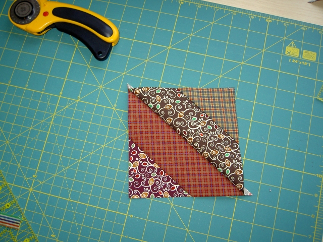 Quick piecing diagonal strip blocks09