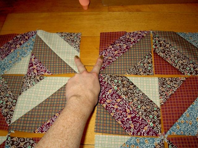 Quick piecing square blocks5