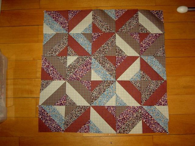 Quick piecing square blocks9