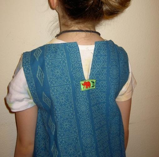 Back elephant dress